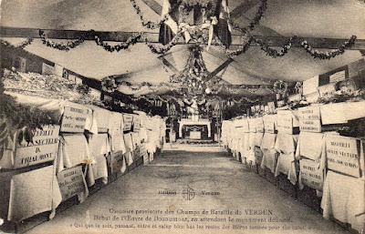 CPA Ossuaire provisoire de Douaumont