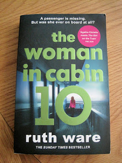 Photo of the book cover of The Woman in Cabin 10 by Ruth Ware