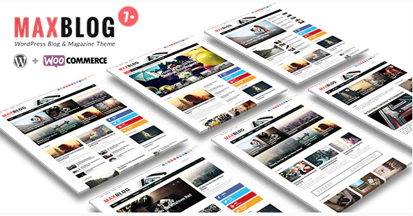 MaxBlog Theme WordPress Magazine