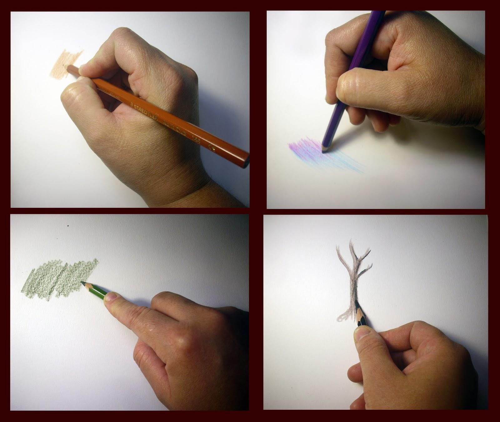 Desenhe Tudo Pintura A Lapis De Cor