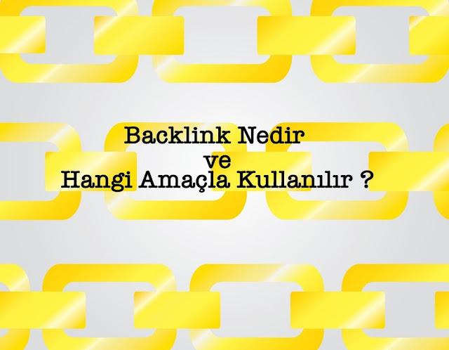 Backlink kullanım amacı nedir