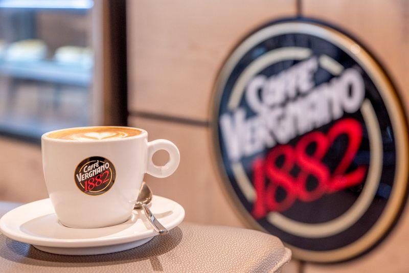 Caffè Vergnano a bordo dos navios da Costa Cruzeiros