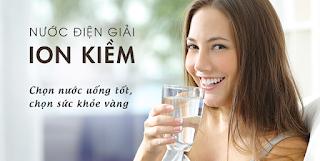 hàm lượng kim loại trong nước uống