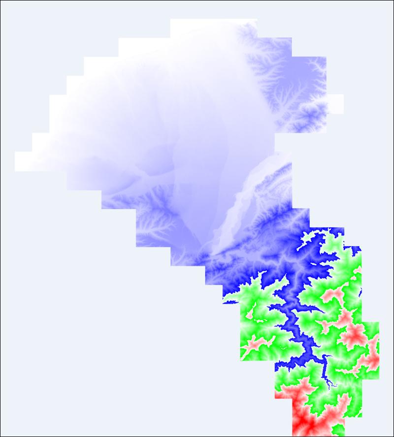 BIM Explorer: 程式解析公開地形模型資料測試