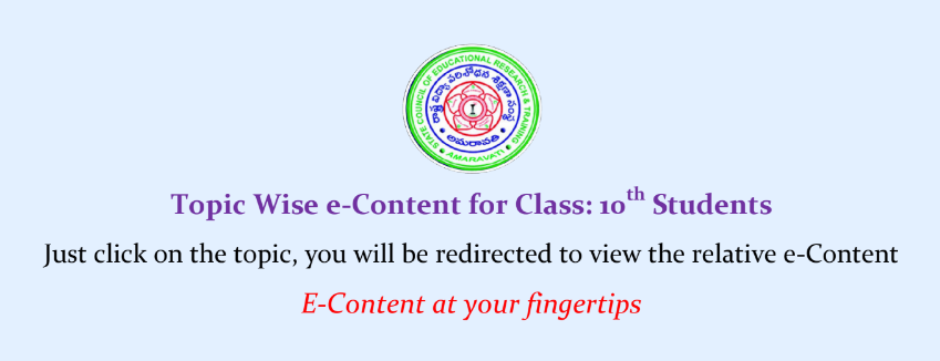 10th Class SCERT Digital e-Content Videos for all Subjects - E-Content at your Fingertips. Topic Wise e-Content for Class 10th Students/2020/05/ssc-10th-Class-SCERT-Digital-e-Content-Videos-for-all-topics-of-Subjects-E-Content-at-your-Fingertips..html