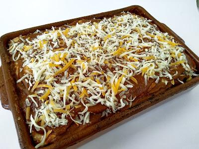 lasaña Mexicana {receta Vegetariana}
