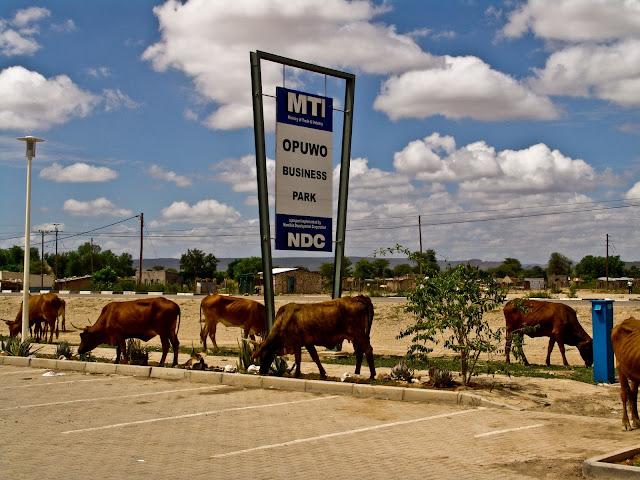 Opuwo town Namibia