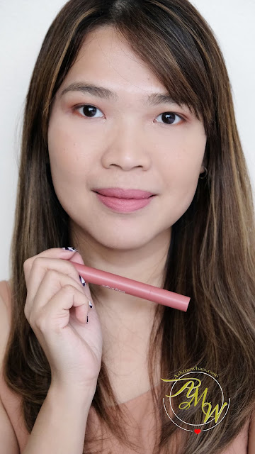 a photo of Baby Bright Mineral Matte Lip Paint Review by Nikki Tiu of askmewhats.com
