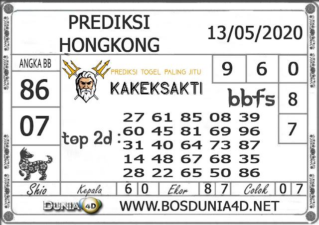 Prediksi Togel HONGKONG DUNIA4D 13 MEI 2020