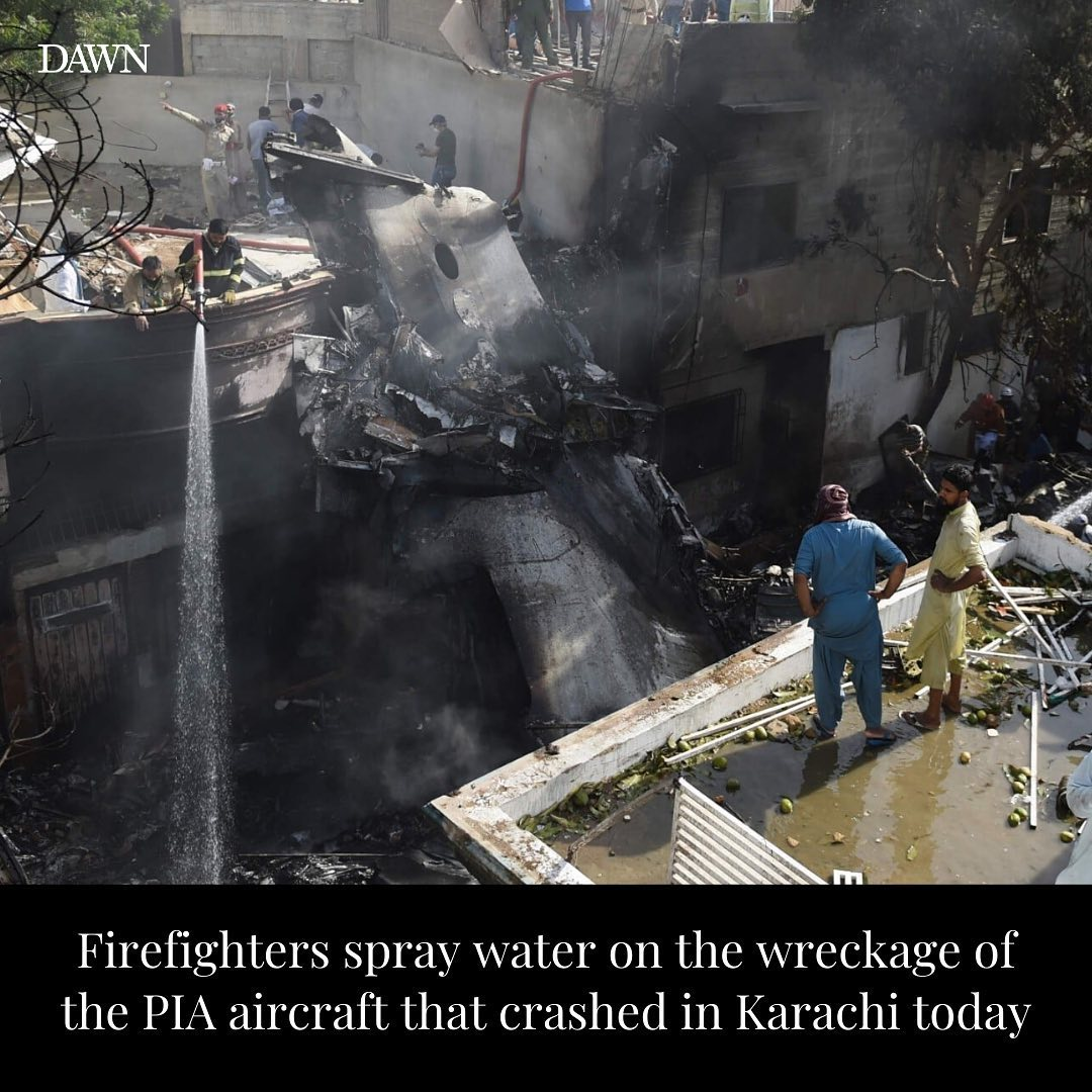 Pakistan Plane Crashed: Dozens Of Innocent Passengers Dead!!