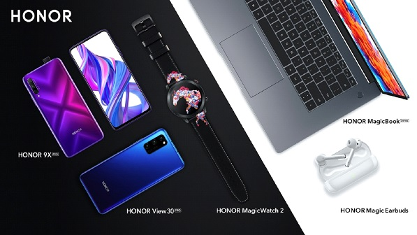 HONOR View 30 PRO,HONOR MagicBook Series, HONOR Magic Earbuds, HONOR MagicWatch 2