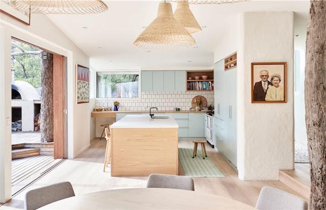 cocina y salon en un mismo espacio chicanddeco