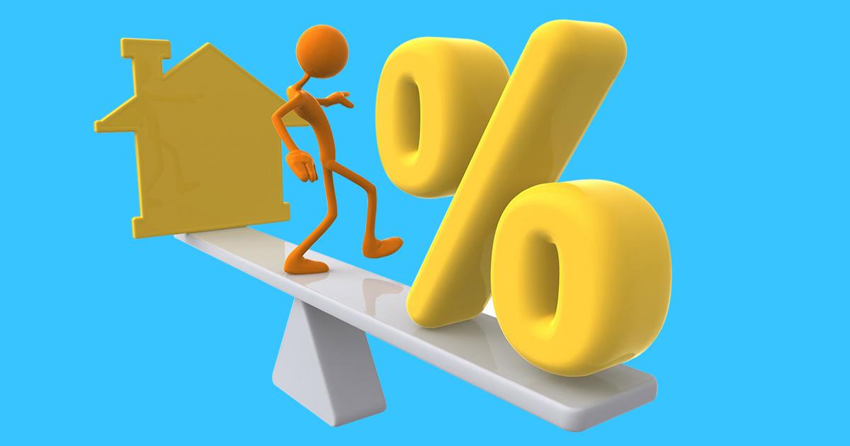 Lãi suất ngân hàng khi vay mua nhà thấp nhất