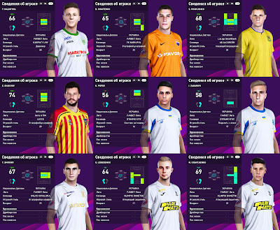 PES 2020 Facepack Ukraine UPL 3 by Serge