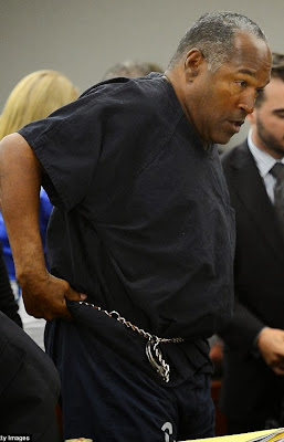 OJ Simpson is undergoing tests for brain cancer, according