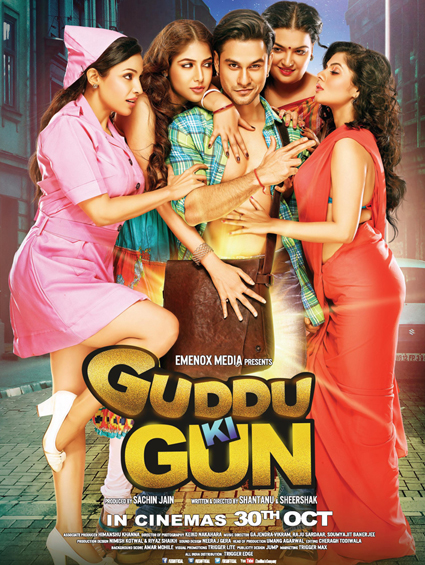 Guddu Ki Gun 2015 Hindi DVDScr 400mb latest bollywood movie dvd scr free download at https://world4ufree.to