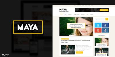 Maya Kişisel Blog Teması Yeni 2019