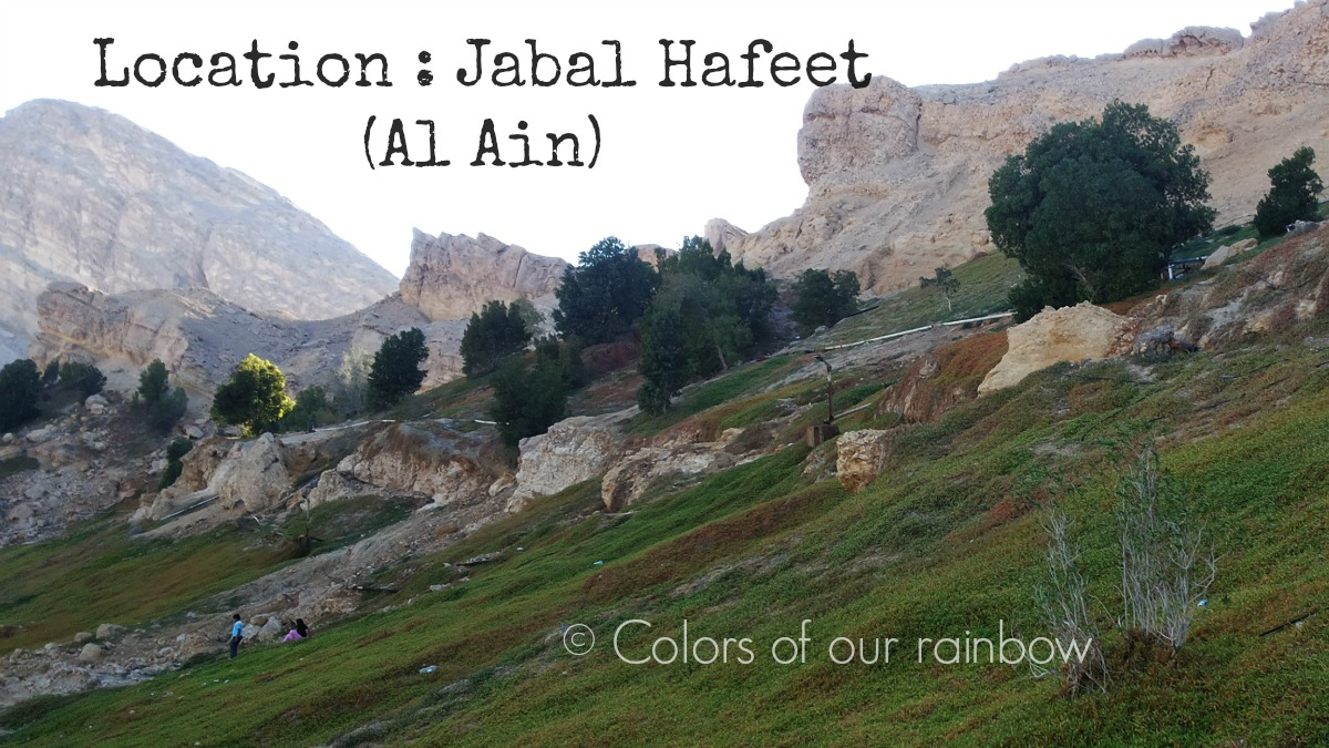 Colors of our Rainbow: CAMPING WITH FAMILY IN UAE: A ...