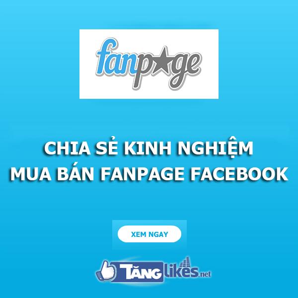 mua ban fanpage