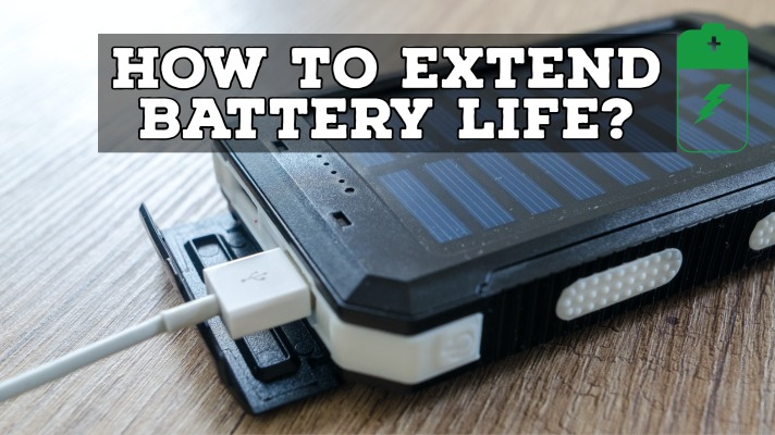 how to extend battery life