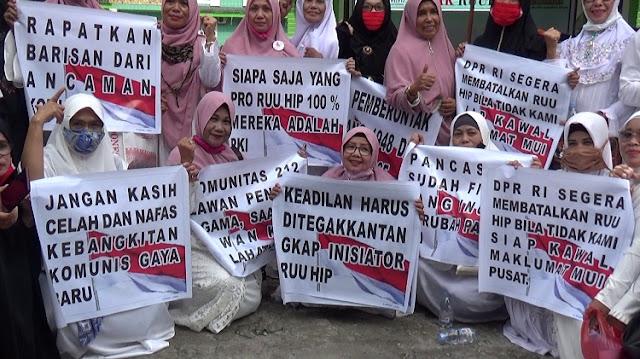 Jokowi Marah, Demo RUU HIP Gak Goyah