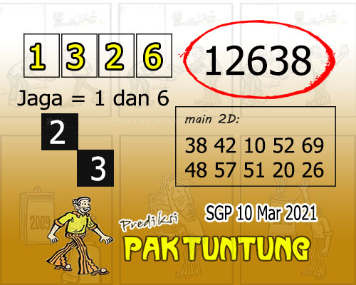 Syair SGP Rabu 10 Maret 2021 -