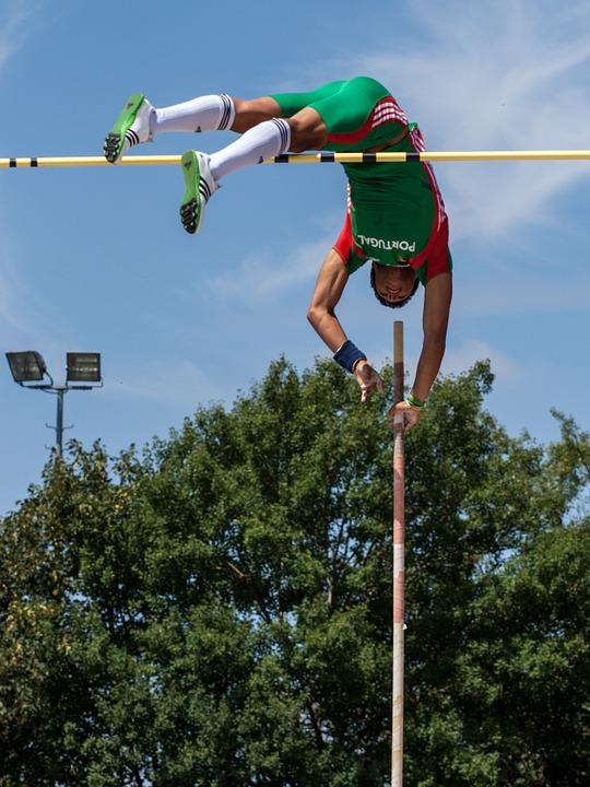 Pengertian Lompat : pengertian, lompat, Pengertian, Lompat, Galah, ATURAN, PERMAINAN