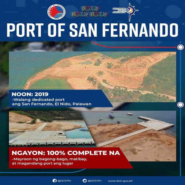 port of san fernando el nido palawan