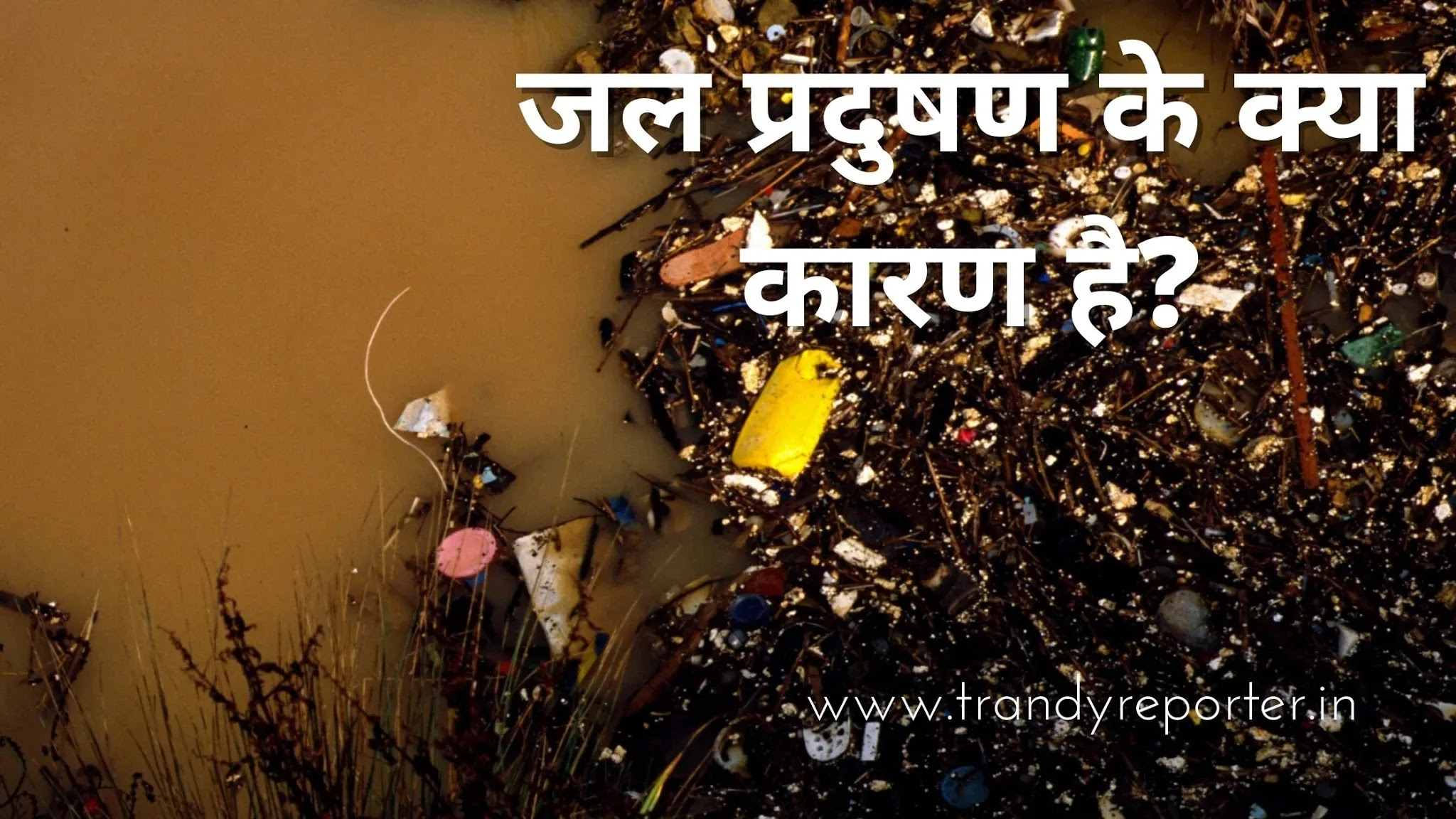 Water Pollution In Hindi   Water Pollution Cause & Solution