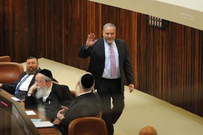 Liberman: quer um primeiro ministro num governo de unidade