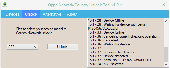 OPPO Network Unlock Country Code Remover Tool Crack (Direct