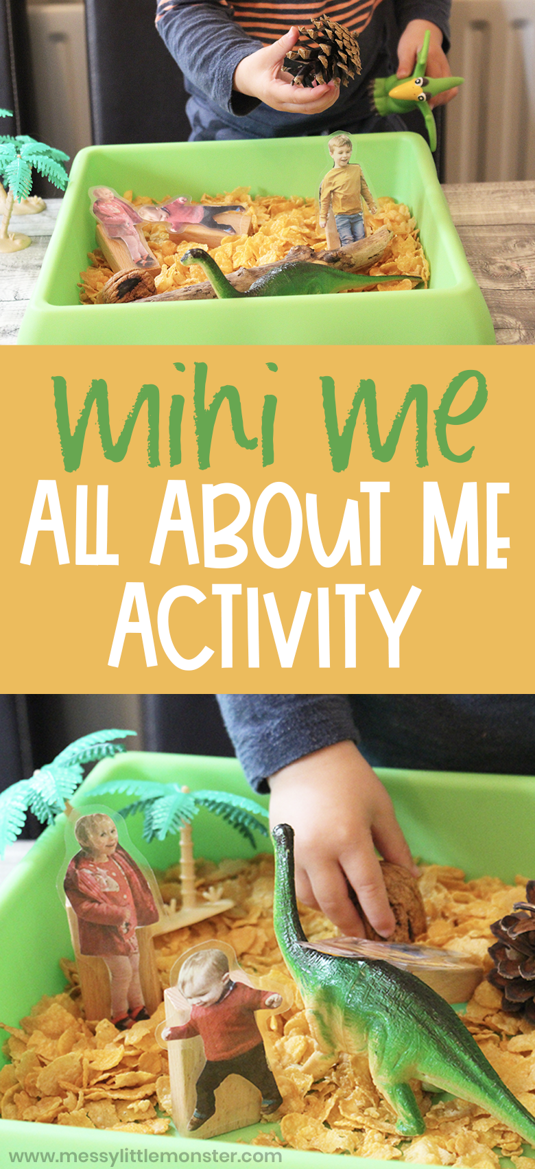 Mini Me All About Me Activity. Small World Play for Toddlers and Preschoolers.