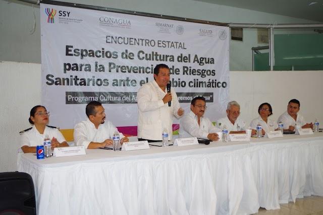 Conagua y SSY capacitan a personal promotor de Cultura del Agua