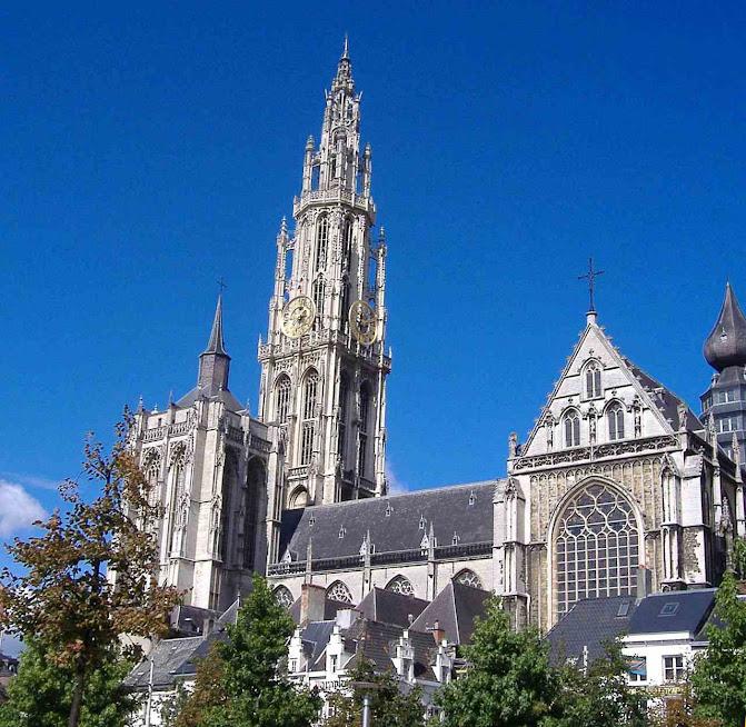 Catedral de Antuérpia dedicada a Nossa Senhora