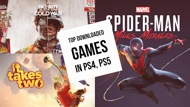 Here's the list of Top Download Games in PS4 and PS5 - IT Takes Two on fourth place on PS5 while COD: Black Ops Cold War on top | TechNeg