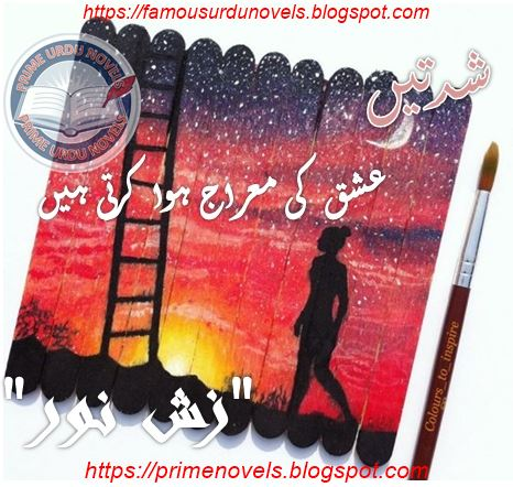 Free download Shiddaten ishq ki meraj hua karti hen novel by Zzish Noor Complete pdf