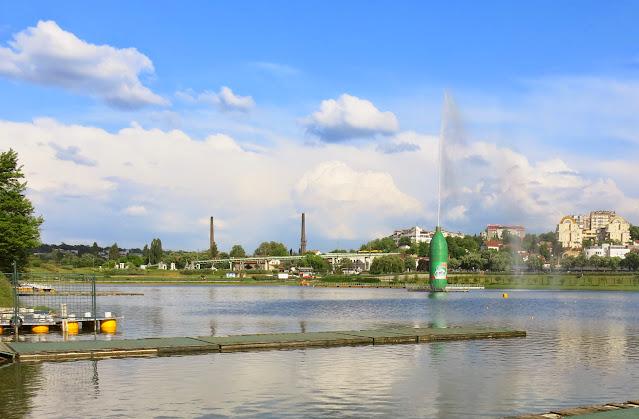 Ada Ciganlija i Belgrad