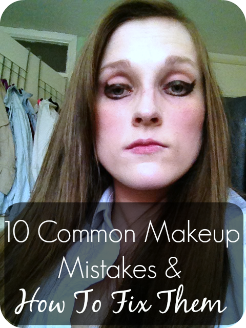 how to fix makeup mistakes