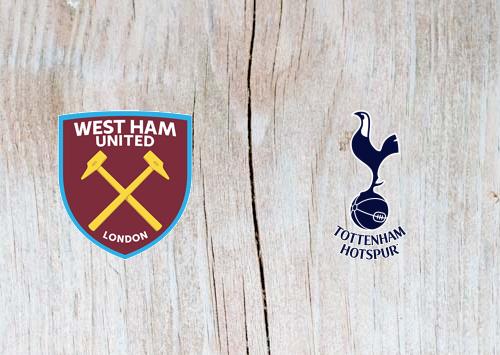 West Ham vs Tottenham Full Match & Highlights 20 October 2018