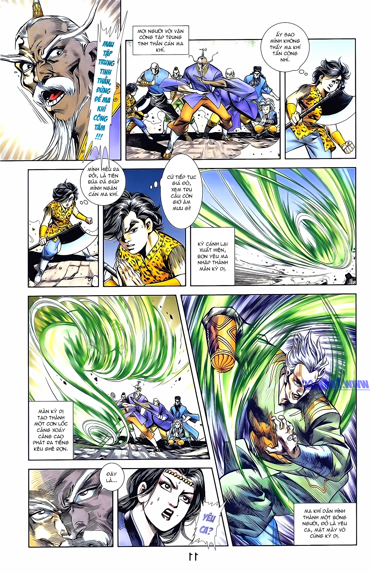 Cơ Phát Khai Chu Bản chapter 161 trang 21