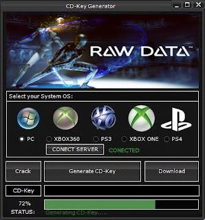 Raw Data CD Key Generator (Free CD Key)