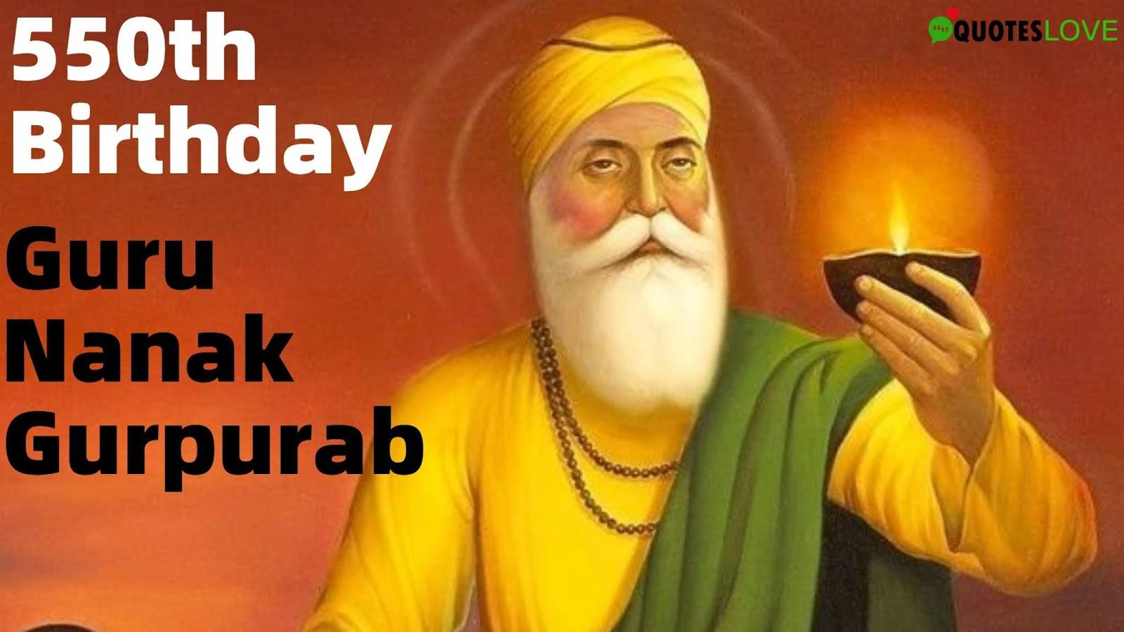 Guru Nanak Gurpurab 550th Birthday Image