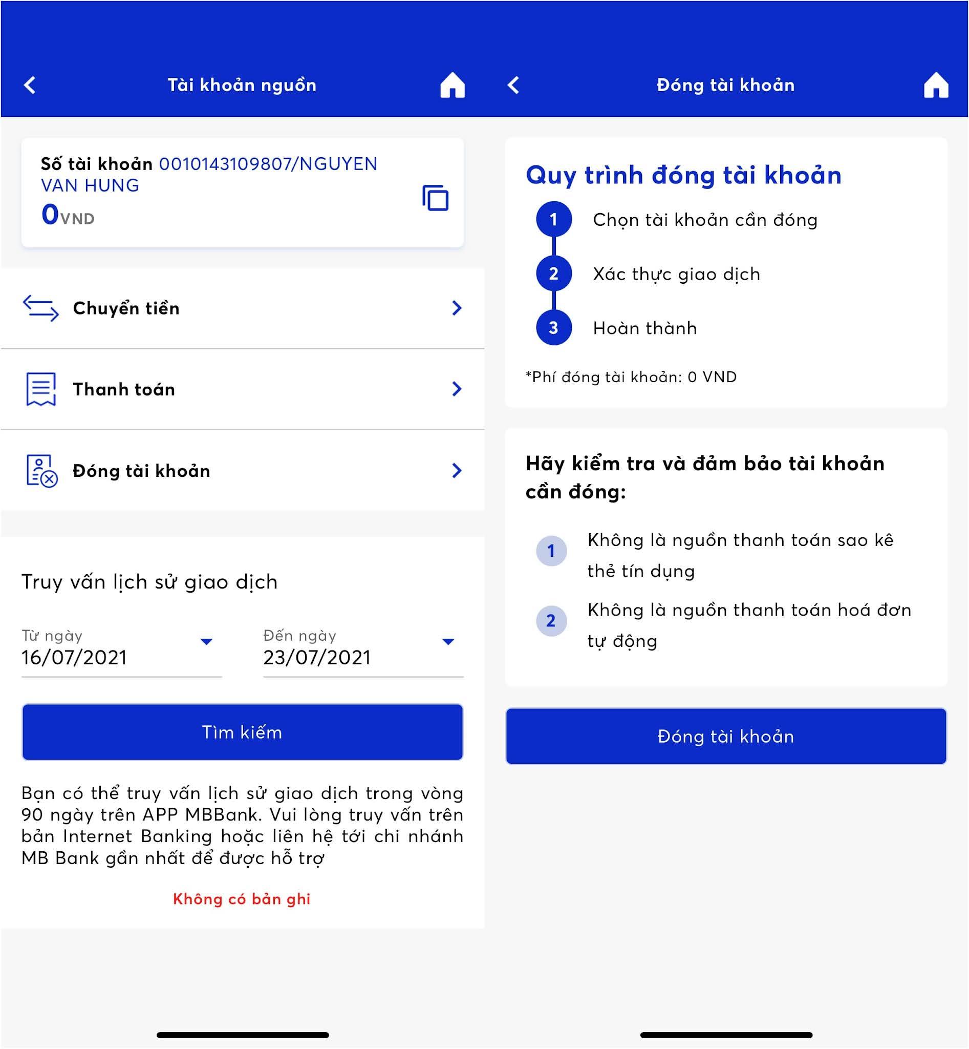 Cách đăng ký tài khoản MB Bank chọn số đẹp miễn phí