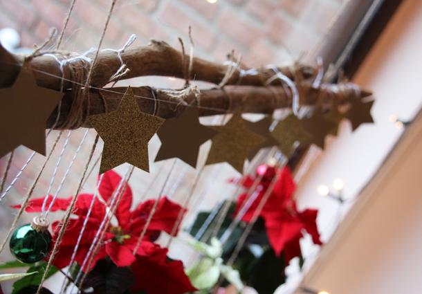 binedoro Blog, DIY, Weihnachtliche Blumenampeln mit Mini-Weihnachtsstern und Kalanchoe, Blumen – 1000 gute Gründe, Pflanzen, Winter, Weihnachten, Dekoration, Fensterdekoration, Tutorial