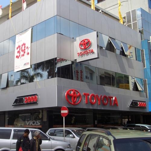 TOYOTA AUTO2000 Glodok Plaza, Alamat  Komp. Pertokoan Glodok Plaza Blok. H 25-26 Jakarta