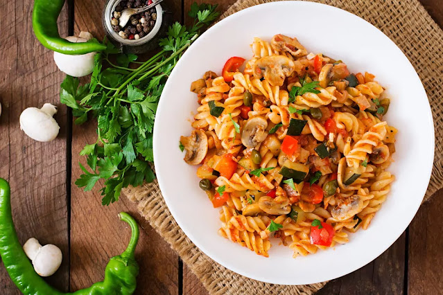Veg Pasta Recipe in Hindi