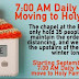 7:00 AM Daily Mass Moving to Holy Family Church