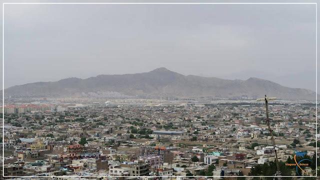 Vista der Cabul, no Afeganistão