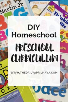 DIY Homeschool Preschool Curriculum - TheDailyAprilnAva