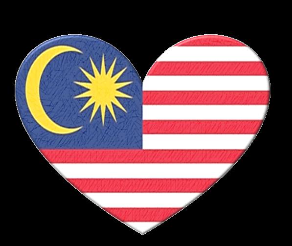 Cara Buat Bendera Malaysia Bentuk Hati Guna Microsoft Word Muymg